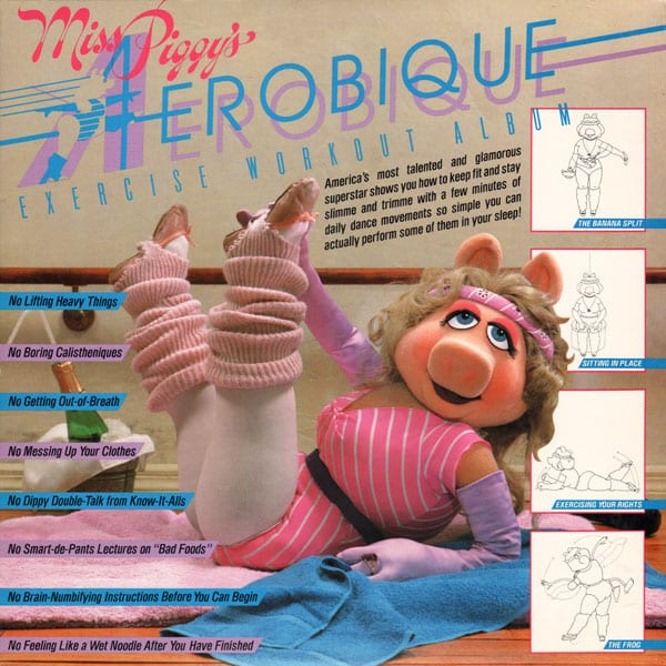 The Muppets - Miss Piggy's Aerobique Exercise Workout Album (1982) CD 1
