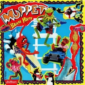 The Muppets - Muppet Beach Party - Original Soundtrack (1993) CD 9