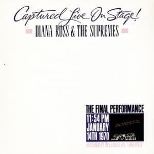 Diana Ross & The Supremes - Captured Live On Stage (EXPANDED EDITION) (1970) CD 2