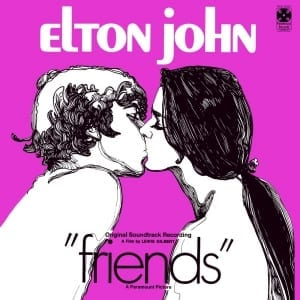 Elton John - Friends - Original Soundtrack (2 BONUS TRACKS) (1971) CD 9