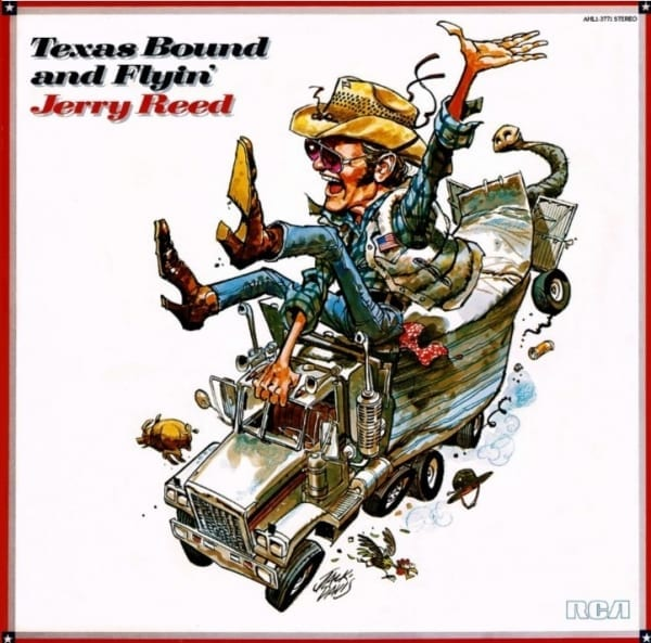 Jerry Reed - Texas Bound And Flyin' (1980) CD 1