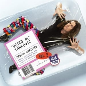 """Weird Al"" Yankovic - Medium Rarities Vol. 2 (2019) CD 4"