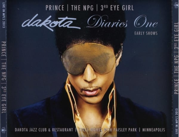 PRINCE  THE NPG  3rd EYE GIRL - Dakota Diaries 1 The Early Shows (2013) 4 CD SET 1