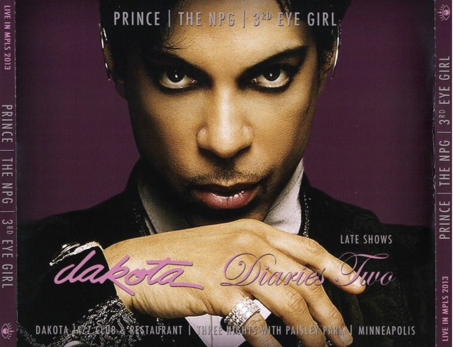 PRINCE  THE NPG  3rd EYE GIRL - Dakota Diaries 1 The Early Shows (2013) 4 CD SET 8