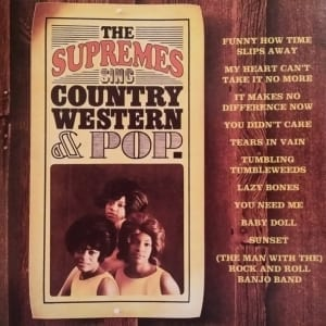 The Supremes - Sing Country Western & Pop (1965) CD 5