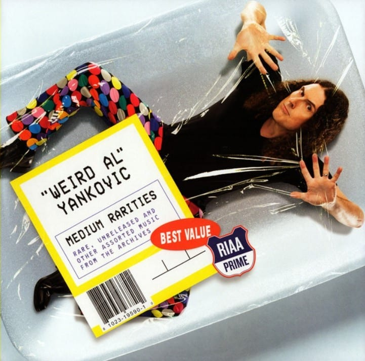 """""""Weird Al"""" Yankovic & Wendy Carlos - Peter And The Wolf / Carnival Of The Animals - Part Two 1988) CD 9"""