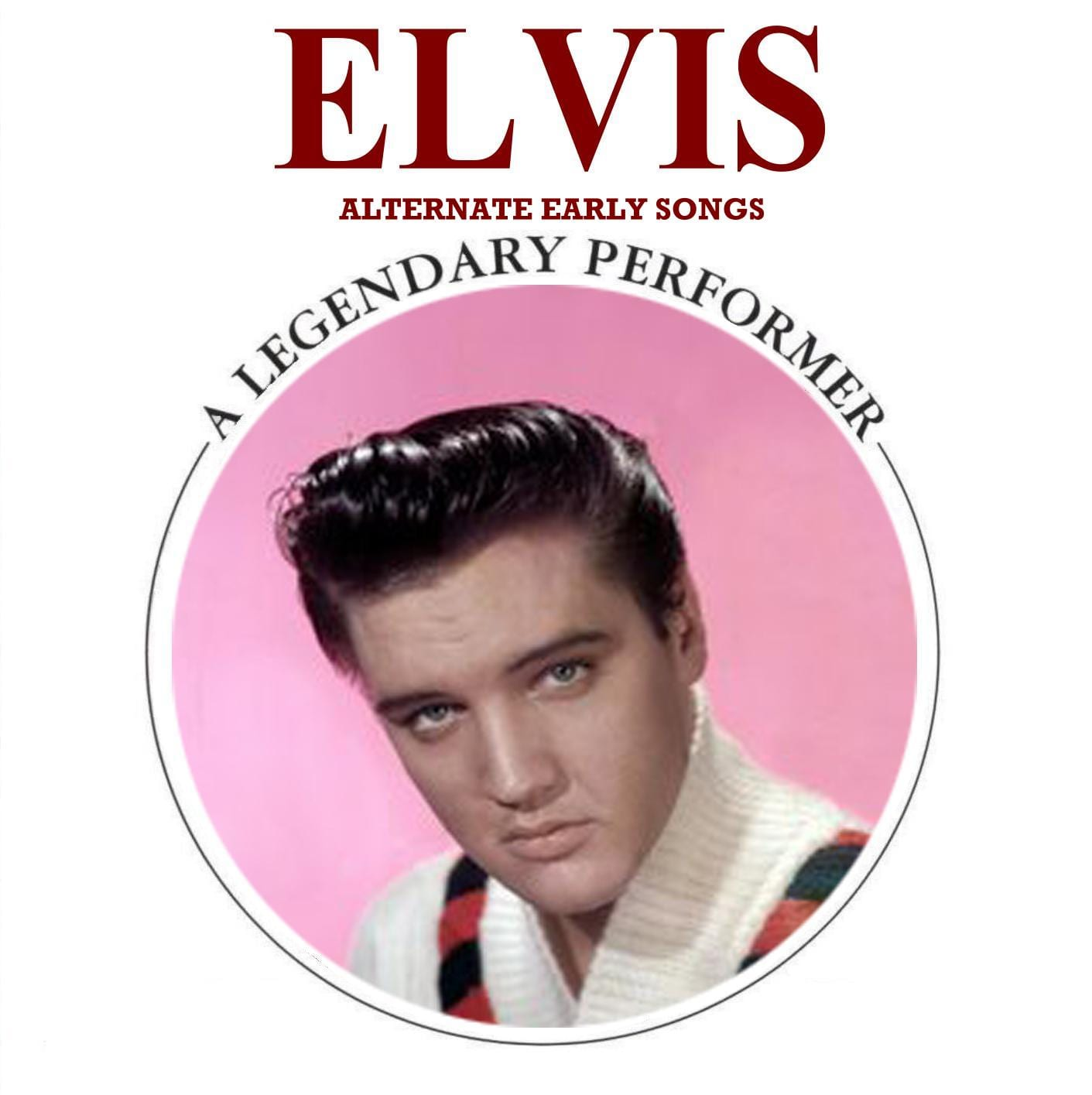 Elvis Presley - A Legendary Performer, Blue Velvet (2011) CD 9