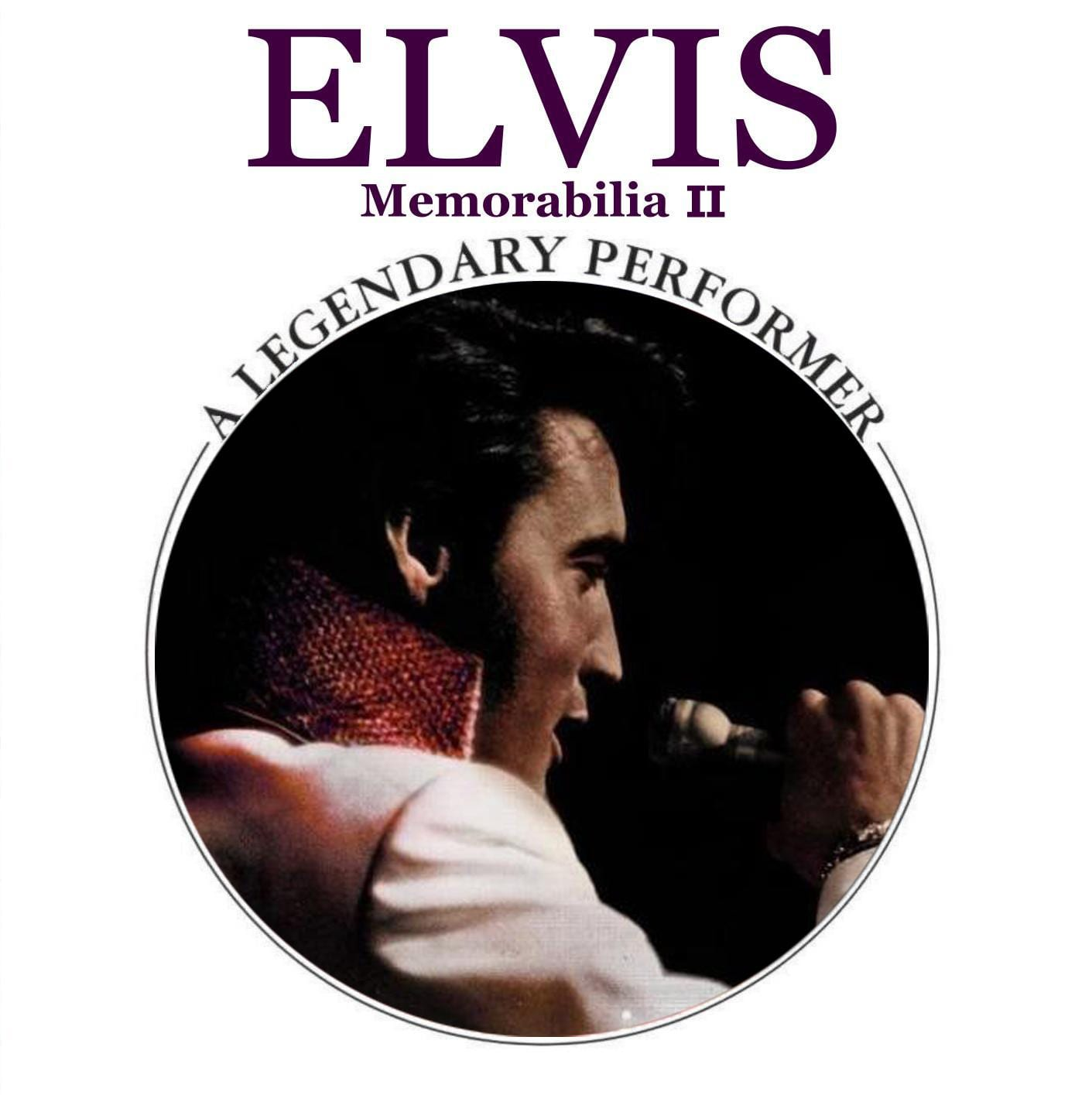 Elvis Presley - A Legendary Performer, Blue Velvet (2011) CD 8