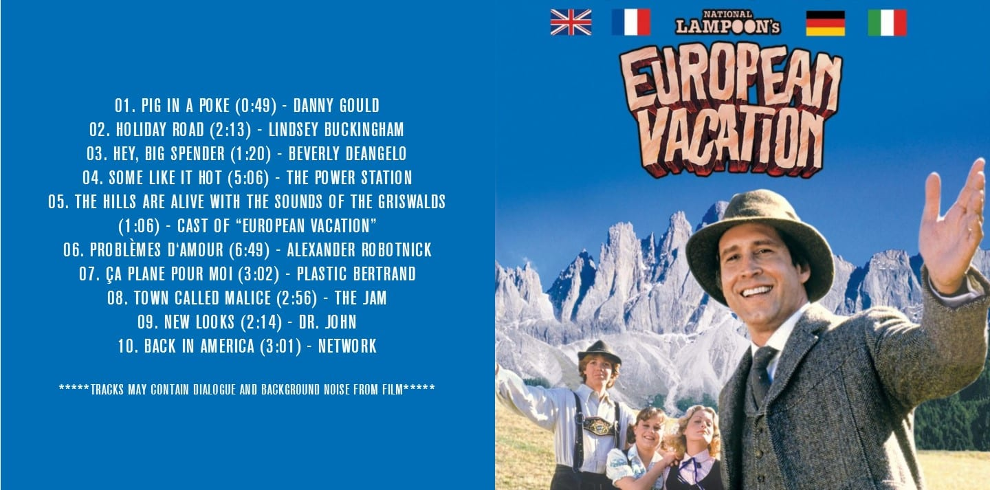 National Lampoon's European Vacation - Original Soundtrack ...
