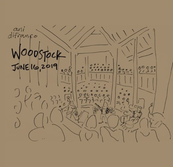 Ani DiFranco - Woodstock 06.16.19 (LIVE) (2019) 2 CD SET 1
