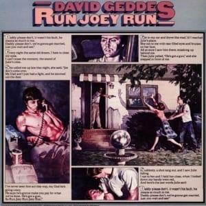 David Geddes - Run Joey Run (EXPANDED EDITION) (1975) CD 27