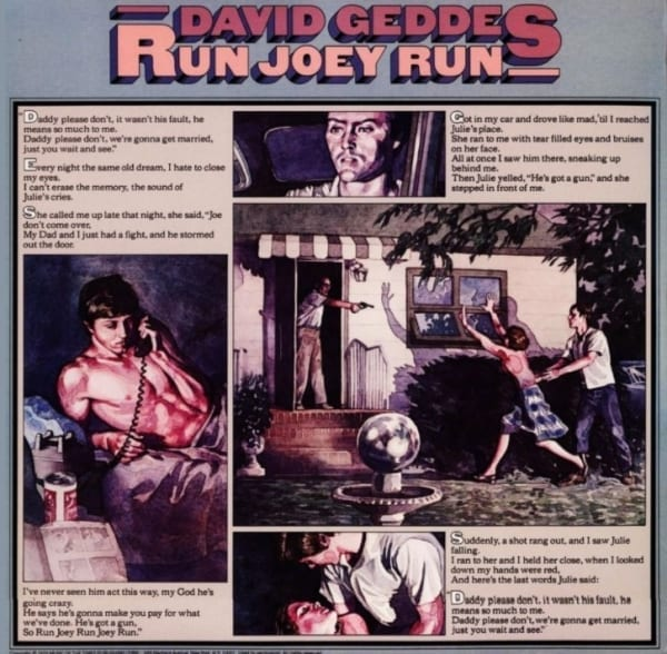David Geddes - Run Joey Run (EXPANDED EDITION) (1975) CD 1