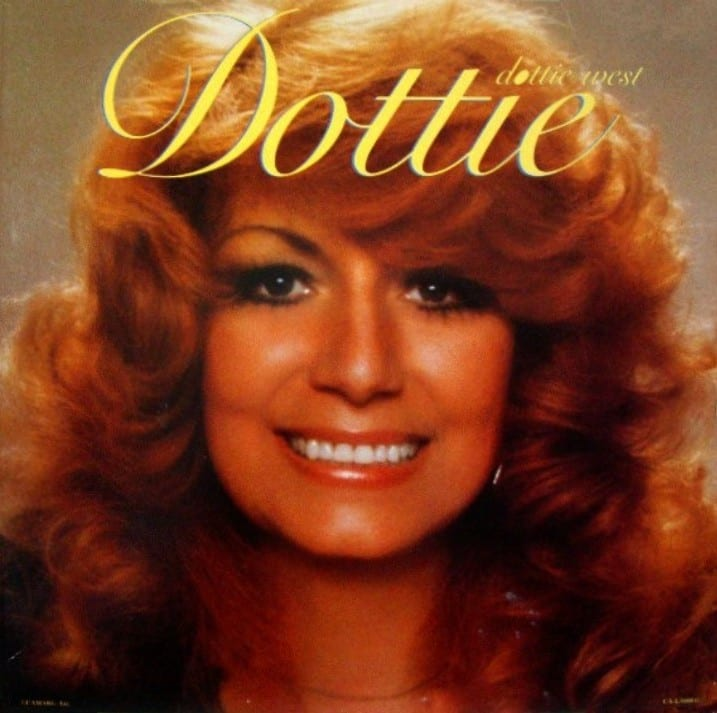 Dottie West - The Best Of Dottie West (1984) CD 9