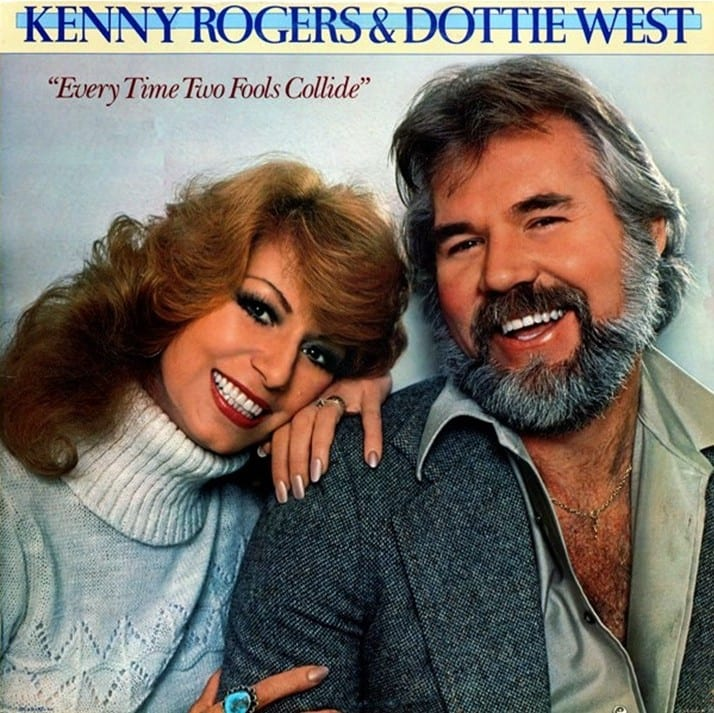 Kenny Rogers & Dottie West - Every Time Two Fools Collide (ORIGINAL U.S. VERSION) (1978) CD 9