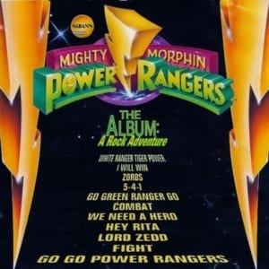 Mighty Morphin' Power Rangers - The Album A Rock Adventure (1994) CD 65