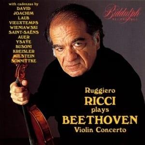 Ruggiero Ricci - Beethoven Violin Concerto (1995) CD 1