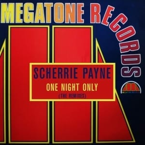 Scherrie Payne - One Night Only (The Remixes) (1984) CD 12