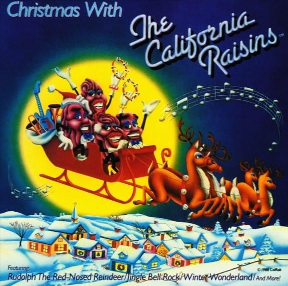 The California Raisins - A Claymation Christmas Celebration - The Soulful Soundtrack Album From The Emmy Award Winning T.V. Special! (1988) CD 8