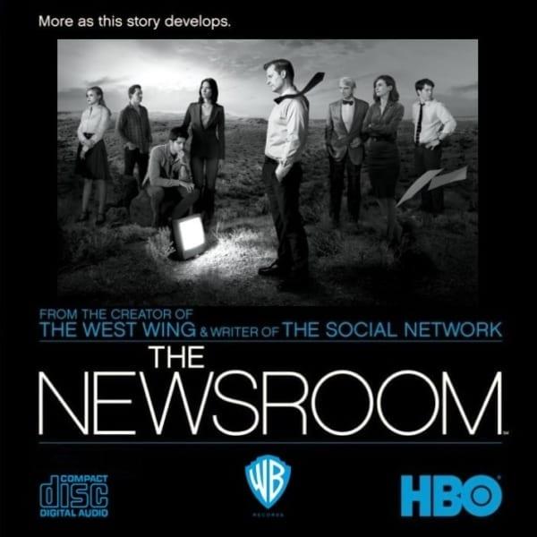 The Newsroom - Original Soundtrack (2015) CD 1