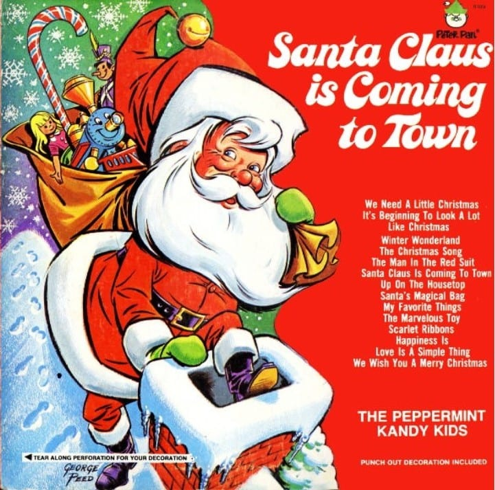 The Peppermint Kandy Kids - Santa Claus Is Coming To Town (CD) 9