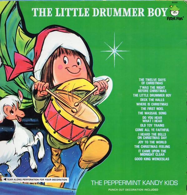 The Peppermint Kandy Kids - The Little Drummer Boy (Version 2) (1972) CD 8