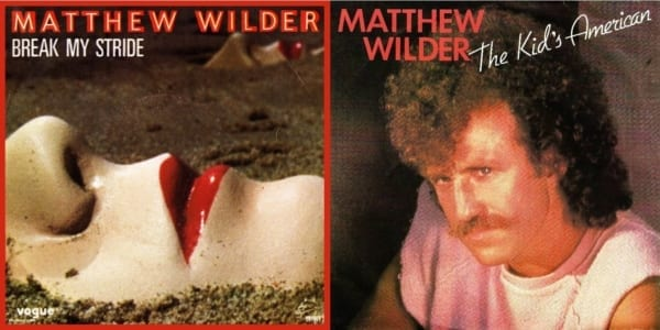 Matthew Wilder ‎- The Kid's American / Break My Stride (THE REMIXES) (MAXI-CD) (1983) CD 1