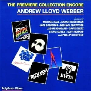 Andrew Lloyd Webber - The Premiere Collection Encore (1993) DVD 18
