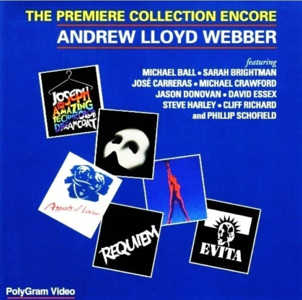 Andrew Lloyd Webber - The Premiere Collection Encore (1993) DVD 1