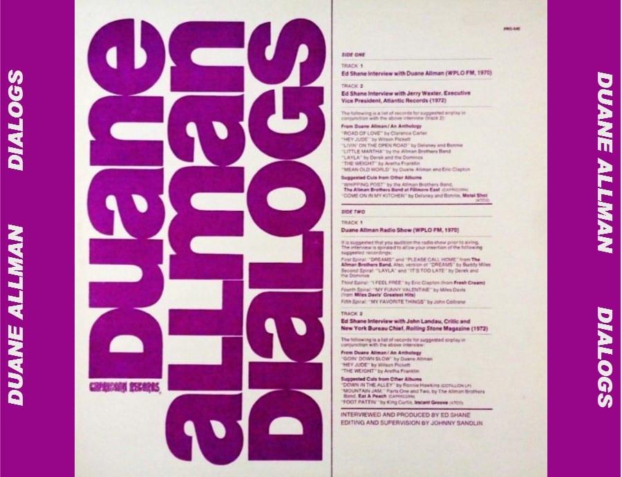 Jerry Garcia, Bob Weir & Duane Allman - The Boston Rag (WBCN Studios) (EXPANDED EDITION) (1970) CD 8