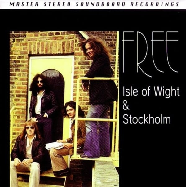 Free - Isle Of Wight & Stockholm (August 1970 & December 1970) (Midas Touch 936212) (1999) 2 CD SET 1