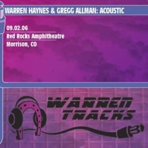 Gregg Allman & Warren Haynes - Acoustic: Red Rocks Amphitheatre (2006) CD 3