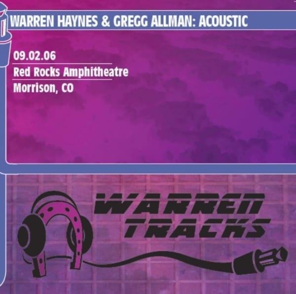 Gregg Allman & Warren Haynes - Acoustic: Red Rocks Amphitheatre (2006) CD 1