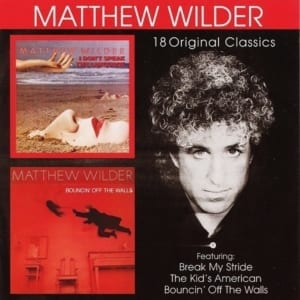 Matthew Wilder - I Don't Speak The Language (1983) / Bouncin Off The Walls (1984) (1999) CD 16