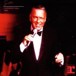 Frank Sinatra - Carnegie Hall, New York City, NY (June 25, 1980) CD 58