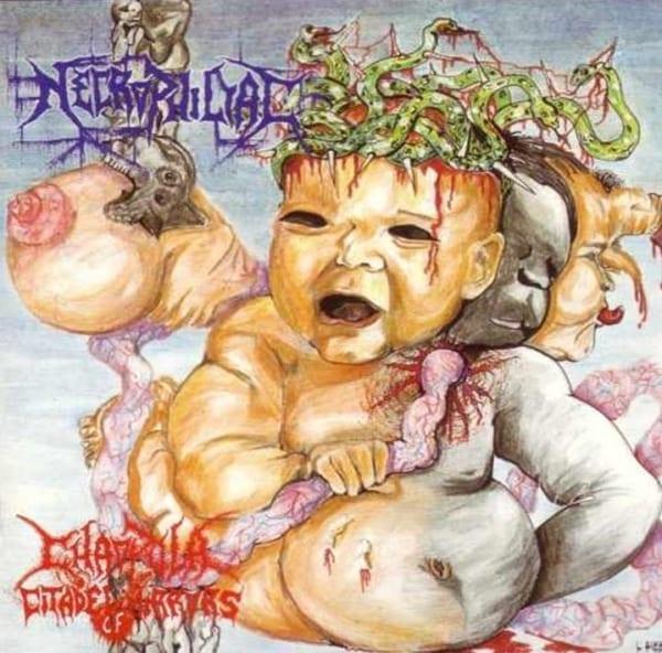 Necrophiliac - Chaopula Citadel Of Mirrors (1992) CD 1