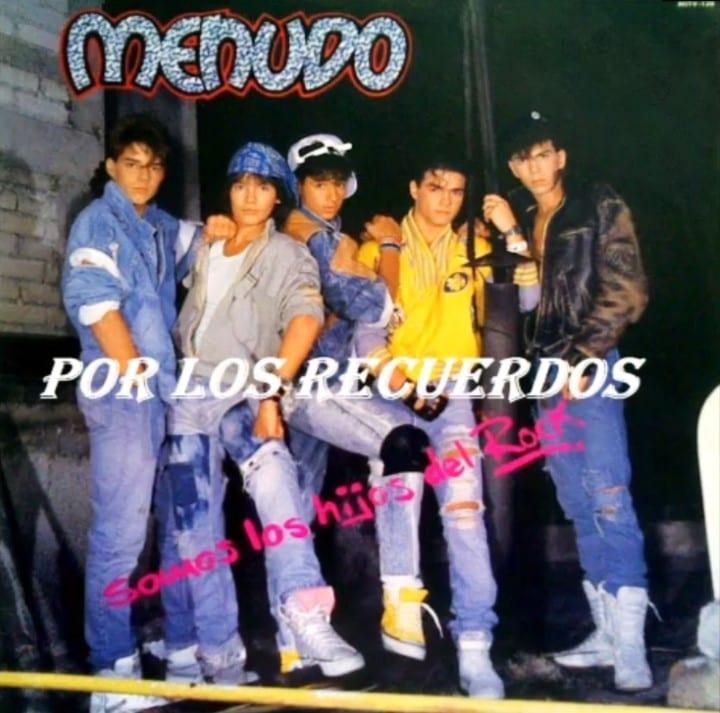 Menudo - Sons Of Rock (1988) CD 8