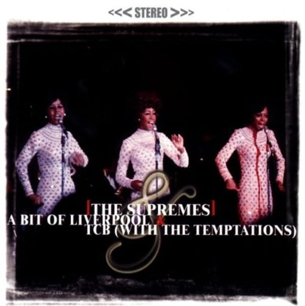 The Supremes / The Supremes With The Temptations ‎- A Bit Of Liverpool / TCB (2 Classic Albums 1CD) (2000) CD 1