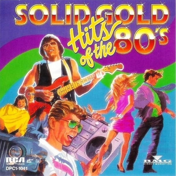 Various Artists - Solid Gold Hits Of The 80's (1992) CD 1